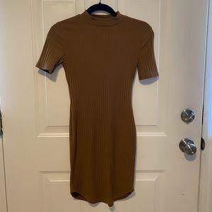 brown sundress